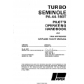 Piper Pa-44-180T Seminole Pilots' Operating Handbook & Flight Manual $13.95