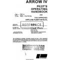 Piper Arrow IV PA-28RT-201 Pilot's Operating Handbook $13.95