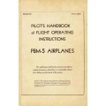 Martin PBM-5 Mariner Airplanes AN 01-35ED-1 Pilot's Handbook of Flight Operating Instructions 1944 $4.95