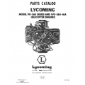 Lycoming Parts Catalog PC-107 VO-IVO-360 Series Helicopter $13.95
