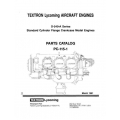 Lycoming Parts Catalog PC-115-1A O-540-A Series $13.95