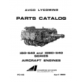 Lycoming Parts Catalog PC-116-3 IGO-540 and IGSO-540 $13.95