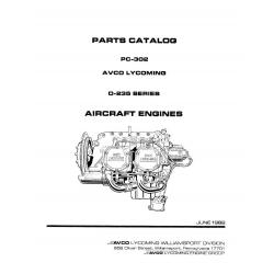 Lycoming Parts Catalog PC-302 O-235 Series $13.95