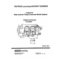 Lycoming Parts Catalog PC-306-6 O-360-A1P $13.95
