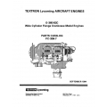 Lycoming Parts Catalog PC-306-7 O-360-B2C $13.95