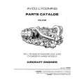 Lycoming Parts Catalog PC-315 TIO-LTIO-540 $13.95