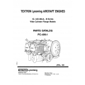 Lycoming Parts Catalog PC-406-1 IO-AIO-360 A-B Series $13.95