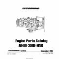 Lycoming Engine Parts Catalog AEIO-360-H1B PC-406-5 (2003) $13.95