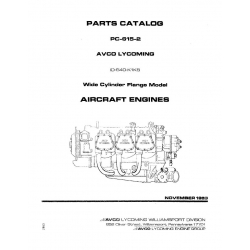 Lycoming Parts Catalog PC-615-2-A IO-540-K1K5 $13.95