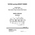 Lycoming Parts Catalog PC-615-8 IO-540T Series $13.95
