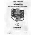 Lycoming Parts Catalog VO-540 Series Helicopter $13.95