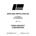 Piper Navajo Parts Catalog PA-31 PA-31-300/325 $13.95 Part # 753-703