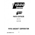 Piper Commuter Liner Parts Catalog PA-31T3 T1040 $13.95 Part # 761-761