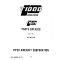Piper Chieftain Parts Catalog PA-31-350 T1020 $13.95 Part # 761-775