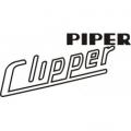 Piper Clipper Aircraft Logo,Graphics,Decal
