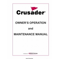 PCM Crusader L510001-06 Marine Engines Owner's Operation and Maintenance Manual 2006