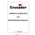PCM Crusader L510001-10 Marine Engines Owner's Operation and Maintenance Manual 2010