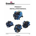 PCM Crusader L510023-07 Marine Engines Product Installation Manual 2007