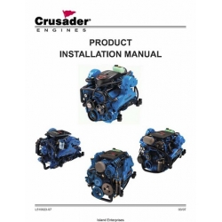 PCM Crusader L510023-07 Marine Engines Product Installation Manual 2007