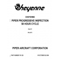 Piper Cheyenne PA-31T & PA-31T1 Progressive Inspection 50hr Cycle $13.95 Part # 761-520