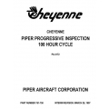 Piper Cheyenne Progressive Inspection 100hr PA-31T2 $13.95 Part # 761-758