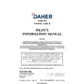 Daher TBM 700 Socata SAS  Version A and B Pilot's Operating Handbook