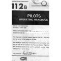 Gulfstream Commander 112B Pilots Operating Handbook  $13.95
