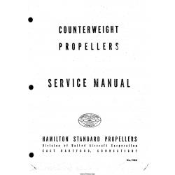 Hamilton Counterweight Propellers Service Manual No.110D