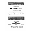 PS Engineering PMA8000 Series Audio Selector Panel Pilot's Guide & Operation Manual 2004 $9.95