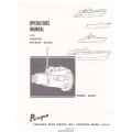 Paragon G300 Series Reverse Gears Manual Transmission Operator's Manual $4.95