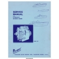 Paragon HF7 Hydraulic Reverse Gears Service Manual $4.95
