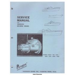 Paragon OXKB, 1XE, 2XE, 25XE, 3XE, 35XE, 4XE3 Reverse Gears Service Manual $4.95