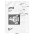 Paragon RO, RA, RB, RC Reduction Gears Service Manual $4.95