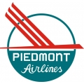 Piedmont Airlines Aircraft Decal/Logo 10''diameter!