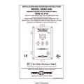 Penta KBAC-24D Installation and Operating Instructions 2000