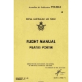 Pilatus Porter Flight Manual/POH 1972 $5.95