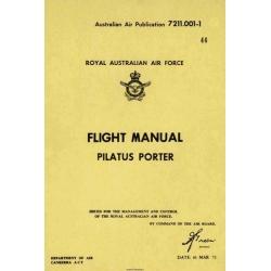 Pilatus Porter Flight Manual/POH 1972 $5.95