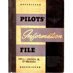 AAF Regulation 62-15 and 62-15A Pilots Information File $2.95