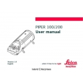 Piper 100/200 Operating and User Manual $4.95