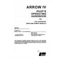 Piper Arrow IV PA-28RT-201 Pilot's Operating Handbook 1978 $13.95