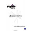 Piper Cherokee Arrow PA-28-180R Pilot's Operating Handbook 1979 $9.95