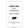 Piper Cherokee Arrow PA-28R-200 Owner's Handbook $6.95