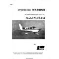 Piper Cherokee Warrior PA-28-151 Pilot's Operating Manual 1973 - 1979 $13.95