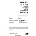 Piper Malibu PA-46-310P Pilot's Operating Handbook 1986 - 2002 $13.95