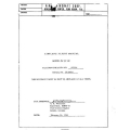 Piper PA-28-140 Airplane Flight Manual/POH 1964 $5.95