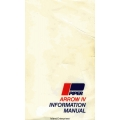 Piper PA-28RT-201 Arrow IV Information Manual 1979 - 1980 $13.95 Part # 761-730