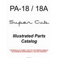 Piper PA-18/18A Super Cub Illustrated Parts Catalog 1950 - 1976