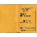 Piper Tri-Pacer PA-22-150 & PA-22-160 Owner's Manual & Operation and Maintenance $5.95