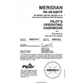 Piper Meridian PA-46-500TP Pilot's Operating Handbook 2008 and FAA Approved Airplane Flight Manual