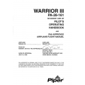 Piper Warrior III PA-28-161 Pilot's Operating Handbook 1995 SN 2842001 and Up $13.95